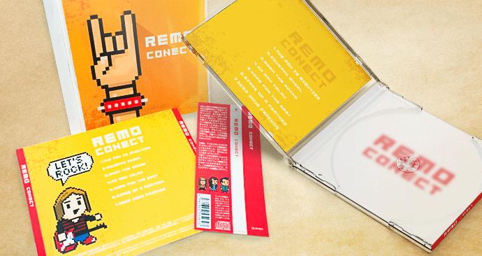 CDジャケット3点set(オフセット印刷)