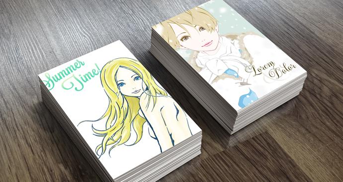 ポストカード(オフセット印刷)